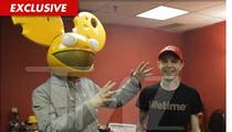 Deadmau5 -- My New Head is SUPER CHEESY!!!