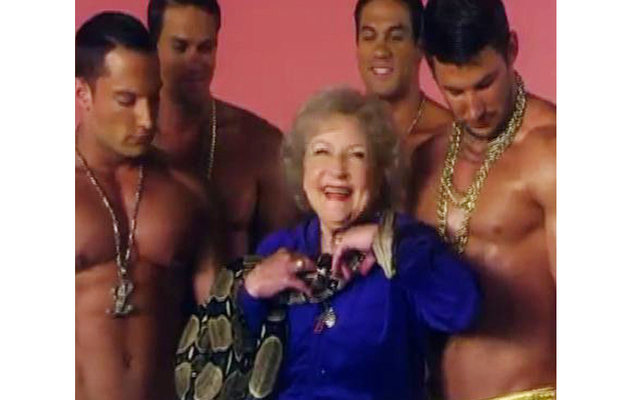 Betty White Releases Rap Music Video -- Watch It Now!