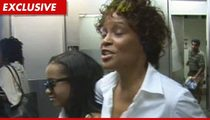 Whitney Houston -- Flight Crew Threatens Fasten Your SeatBelt ... Or Else