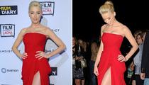 Amber Heard -- Lipstick Legsbian!