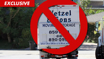 Ashton Kutcher & Demi Moore -- Moving Truck Story Is BS