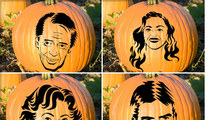 Celebrity Pumpkin Stencils -- Cut It Out!