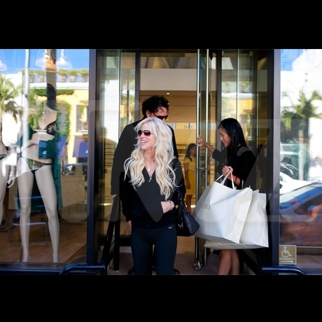 Neal and Michaele Shopping Spree
