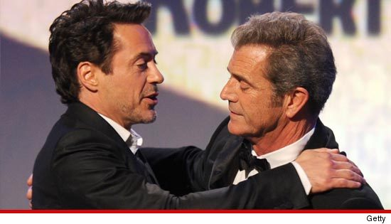 Robert Downey Jr Mel Gibson