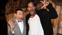 Pee-wee Herman Steals the Show at Spike TV's Scream Awards
