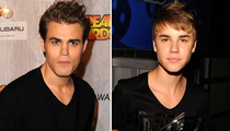 'Vamp Diaries' Star & Justin Bieber -- Separated by Boy Bangs!