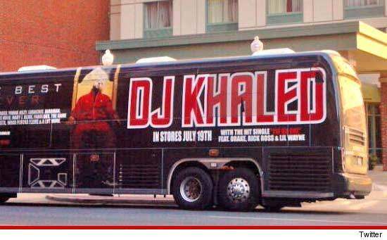 DJ Khaled Tour Bus