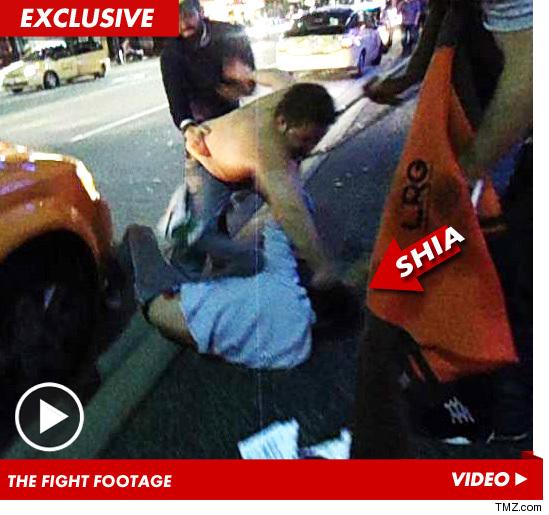 shia laboeuf vancouver fight