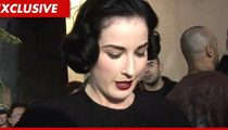 Dita Von Teese -- $5,000 Victory Over Alleged Anti-Semite Landlord