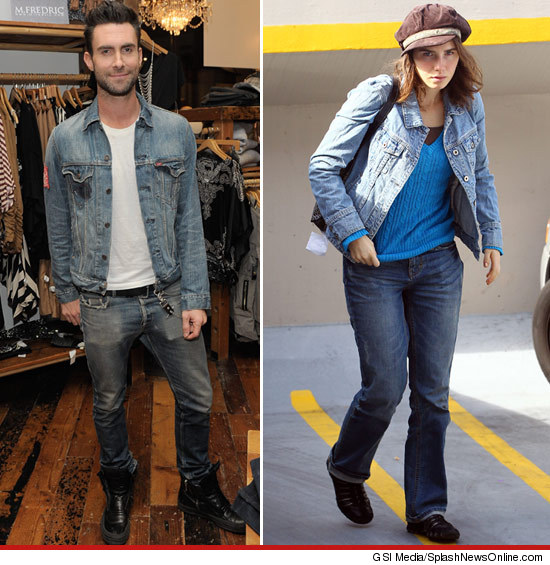 Adam Levine in Denim