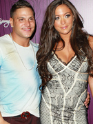 """Jersey Shore"" Stars Ronnie & Sammi Split ... Again"
