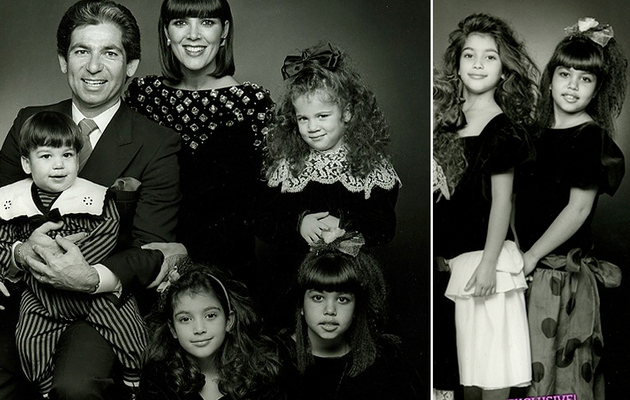 Kim Kardashian Shares Family Photo from 1988!