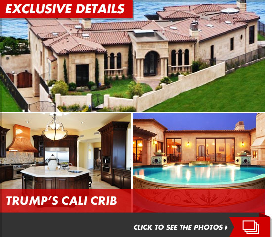 Donald Trump California Mansion