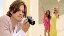 Is Ashton Kutcher's New Nikon Ad In Bad Taste?