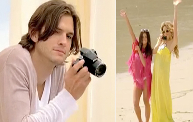 Is Ashton Kutcher's New Nikon Ad In Bad Taste?
