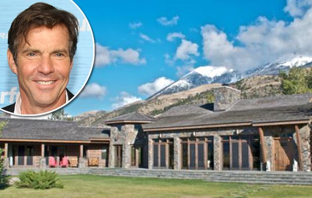 Dennis Quaid Selling Montana Ranch -- See the Amazing Photos