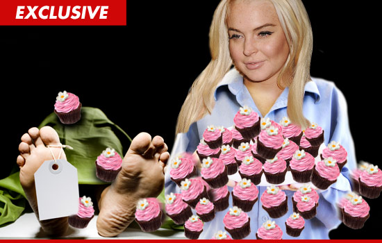 Lindsey Lohan Cupcakes
