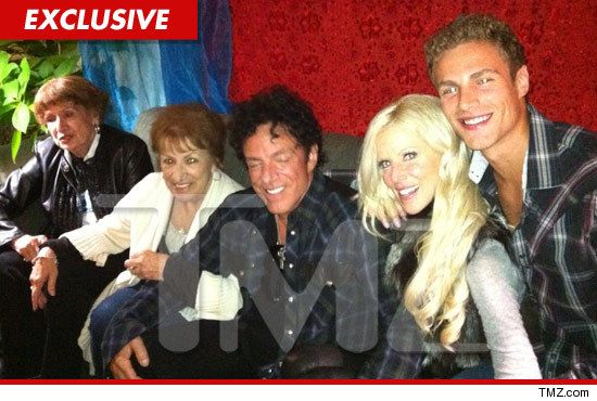 Michaele Salahi and Neal Schons Family