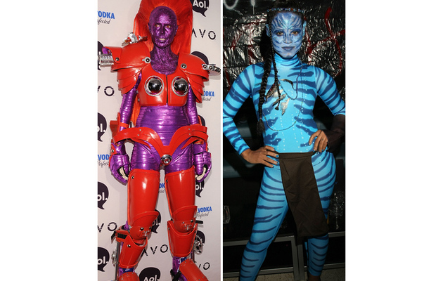 Sexy Celebrity Halloween Costumes