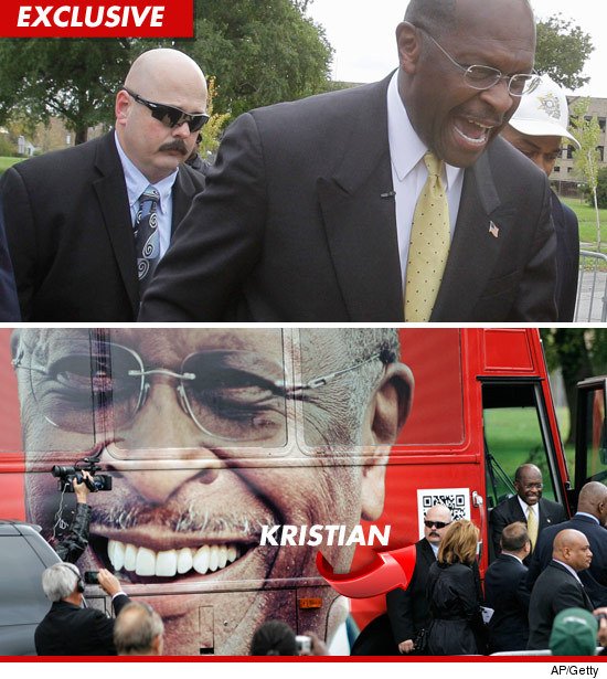 Herman Cain bodyguard