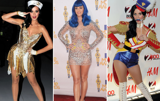 Katy Perry's 27 Most Outrageous Looks!