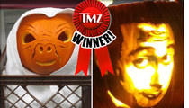 TMZ's Pumpkin Carvin' Photo Contest -- It's a TIE!