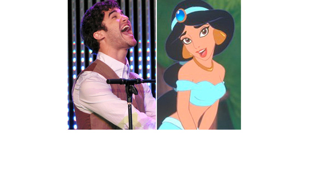 """Glee"" Star Darren Criss Sings with Real Princess Jasmine!"