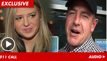 Michael Lohan's GF Kate Major 911 Call -- I'm Afraid of Him, He's Gonna Hit Me!