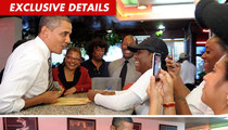President Barack Obama Chickens Out Big Time ... At Roscoe's