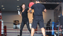 Adriana Lima Beats the Holy Hell Out of Boxing Trainer [VIDEO]