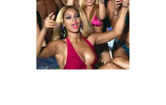 """Beyonce Throws """"Party"""" in Sexy Swimsuit"""