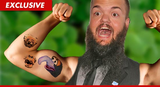 Hornswoggle Muppets Tattoos