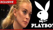 Lindsay Lohan -- FULL FRONTAL Nude for Playboy