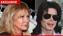 Paris Hilton's Mom at Murray Trial to Support Michael Jackson