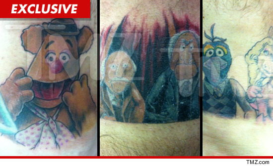 Hornswoggle Muppet Tattoos