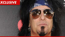 Nikki Sixx -- Contacts Cops Over 'Missing' Son