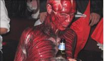 Heidi Klum -- A Bloody Good Halloween Costume