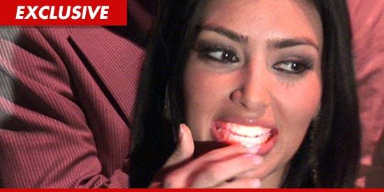 Kim Kardashian tortured