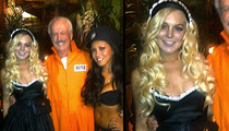 Lindsay Lohan -- Sexed Up for Halloween Party at Playboy Mansion