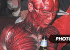Heidi Klum -- A Bloody Good Halloween Costume