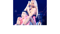 Joe Jonas Gets a Lap Dance from Britney Spears!
