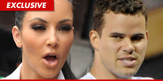 Kim Kardashian & Kris Humphries fighting