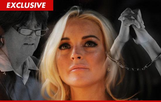 Lindsay Lohan in jail