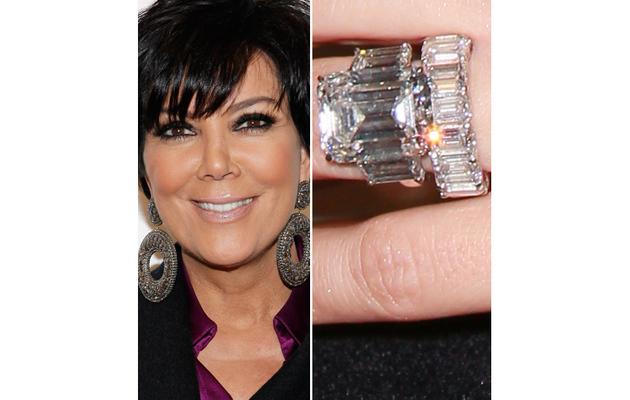 Kris Jenner: Kim Kardashian's Ring Isn't Worth $2 Million!