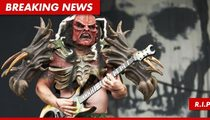 Legendary GWAR Guitarist Found Dead on Tour