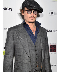Johnny Depp's Terrifying Flight
