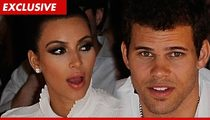 Kim Kardashian & Kris Humphries -- Zero Communication Since Split