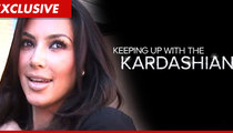 Kim Kardashian -- Banning Divorce Drama from E! Reality Show