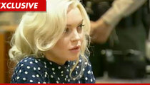 Lindsay Lohan -- Jail Was 'Scary'