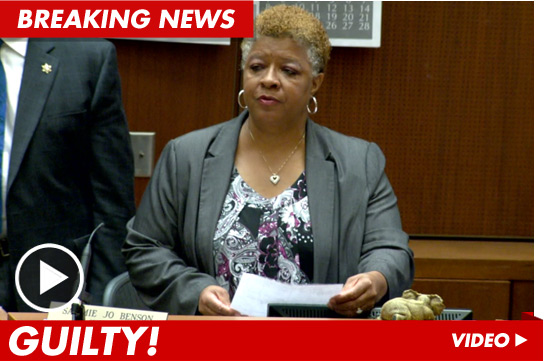 Conrad Murray Verdict in Michael Jackson Trial -- GUILTY | TMZ.